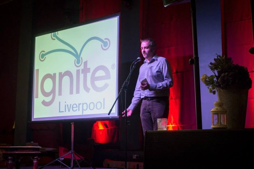 Speaking at Ignite Liverpool