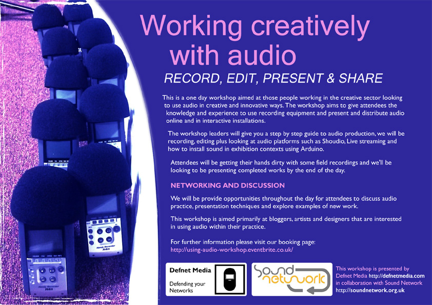 Audio workshop