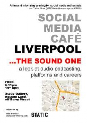 Social Media cafe audio